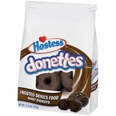 Donuts, Hostess® Donettes® Mini Frosted Devil's Food Donuts (11.25 oz Bag)