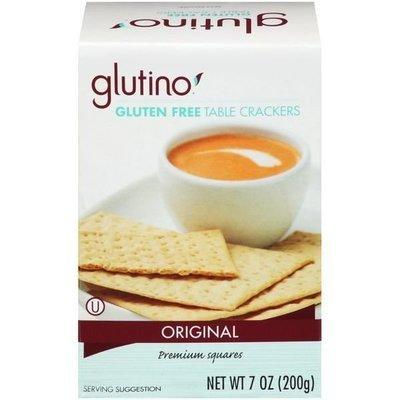 Crackers, Glutino® Gluten Free Original Table Crackers (7 oz Box)