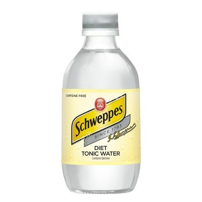 Tonic Water, Schweppes® Diet Tonic Water (10 oz Bottle, Single Bottle)