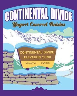 Snack, Rocky Mountain Treats® Continental Divide™ Yogurt Covered Raisins (8 oz Bag)