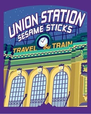 Snack, Rocky Mountain Treats® Union Station™ Sesame Sticks (6 oz Bag)
