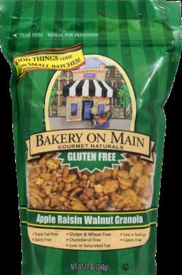 Granola, Bakery on Main® Gluten-Free Apple Raisin Walnut Granola (12 oz  Bag)