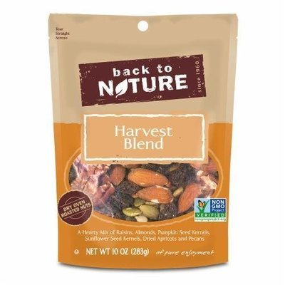 Trail Mix, Back To Nature® Harvest Blend Nuts Mix (10 oz  Bag)