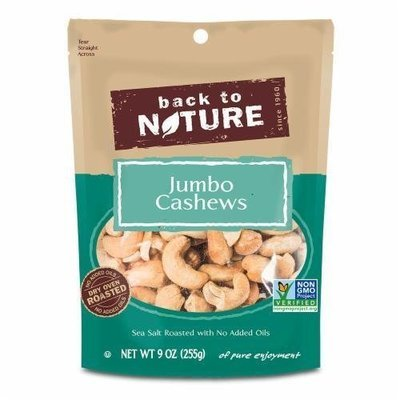 Trail Mix, Back To Nature® Light Salt Cashews Mix (9 oz  Bag)
