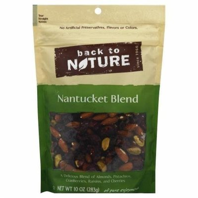 Trail Mix, Back To Nature® Nantucket Blend Mix (10 oz  Bag)