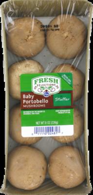 Fresh Mushrooms, Fresh Selections® Baby Portabella