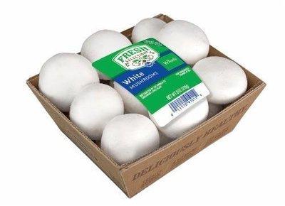 Fresh Mushrooms, Fresh Selections® Whole White Mushrooms (8 oz Tray)