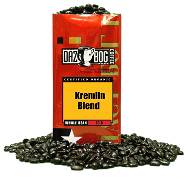 Ground Coffee, Dazbog® Russian Roulette Ground Coffee (12 oz Bag)