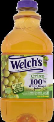 Juice Drink, Welch's® 100% White Grape Juice (64 oz Bottle)