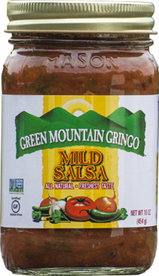 Salsa, Green Mountain Gringo® Mild Salsa (16 oz Jar)