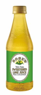 Juice Drink, Rose's® Sweetened Lime Juice (12 oz Bottle)