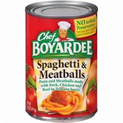 Meatballs, Chef Boyardee® Spaghetti & Meatballs (14.5 oz Can)