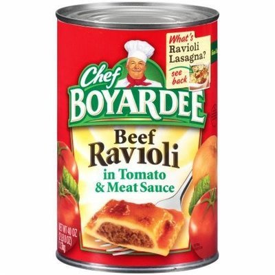 Ravioli, Chef Boyardee® Beef Ravioli (40 oz Can)