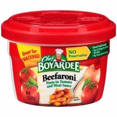 Ravioli, Chef Boyardee® Beefaroni (7.5 oz Cup)