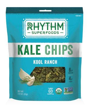 Kale Chips, Rhythm Superfoods® Kool Ranch Kale Chips (2 ox Bag)