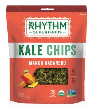 Kale Chips, Rhythm Superfoods® Mango Habanero Kale Chips (2 ox Bag)