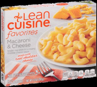 Mac N Cheese Dinner, Lean Cuisine® Favorites™ Macaroni & Cheese (10 oz Box)