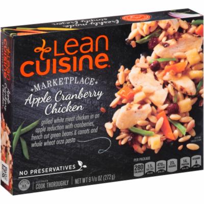 Frozen Dinner, Lean Cuisine® Marketplace™ Apple Cranberry Chicken (9.625 oz Box)