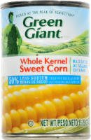 Canned Corn, Green Giant® Low Sodium Whole Kernel Sweet Corn (15.25 oz Can)