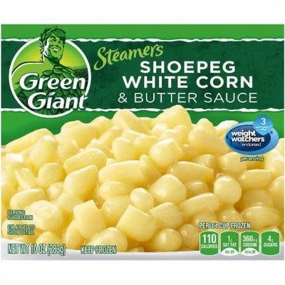 Frozen Corn, Green Giant® Steamers Shoepeg White Corn & Butter Sauce (9 oz Bag)