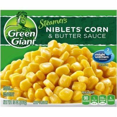 Frozen Corn, Green Giant® Steamers Niblets Corn & Butter Sauce (10 oz Bag)