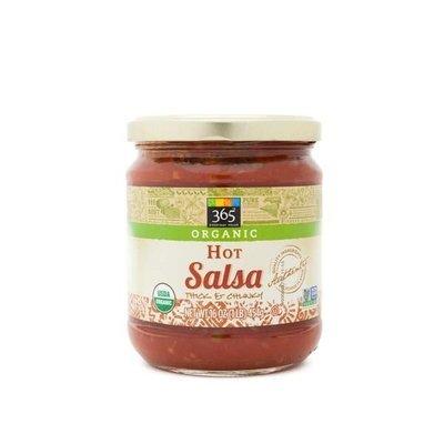 Salsa, 365® Organic Hot Salsa (16 oz Jar)