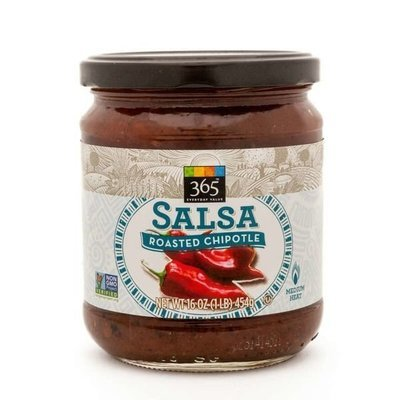 Salsa, 365® Medium Roasted Red Chipotle Salsa (16 oz Jar)
