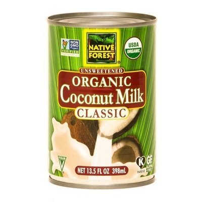 Coconut Milk, Native Forest® Organic Unsweetened Coconut Milk (13.5 oz Can)