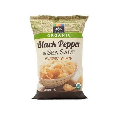 Potato Chips, 365® Organic Salt & Black Pepper Potato Chips (5 oz Bag)