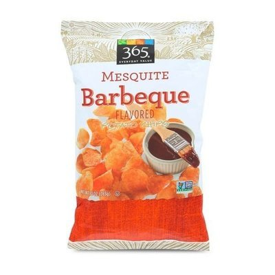 Potato Chips, 365® Mesquite Barbeque Potato Chips (10 oz Bag)