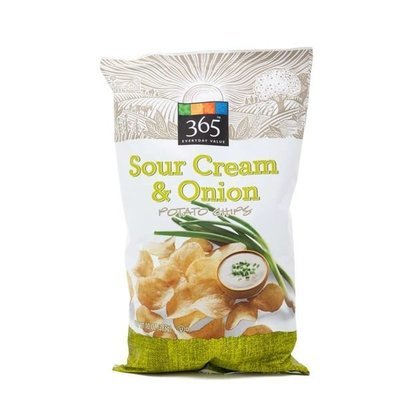 Potato Chips, 365® Sour Cream & Onion Potato Chips (10 oz Bag)