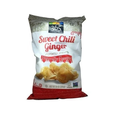 Potato Chips, 365® Sweet Chili Ginger Potato Chips (10 oz Bag)