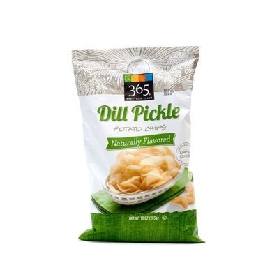 Potato Chips, 365® Dill Pickle Potato Chips (10 oz Bag)