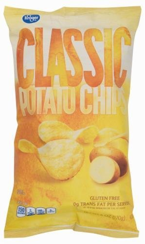 "Potato Chips, Kroger® ""Small Size"" Classic Potato Chips (6 oz Bag)"