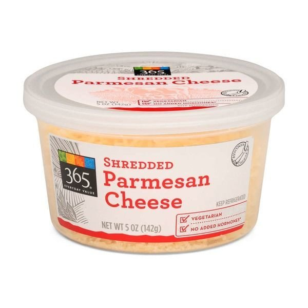 Shredded Cheese, 365® Shredded Parmesan Cheese (5 oz Cup)