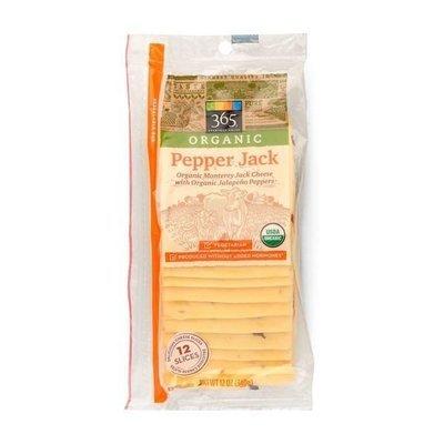 Cheese, 365® Organic Sliced Pepper Jack Cheese (12 oz Bag)