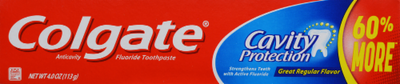 Toothpaste, Colgate® Cavity Protection Toothpaste (4 oz Box)