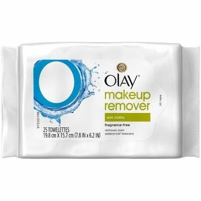 Makeup Remover, Olay® Makeup Remover Fragrance Free Wet Cloths (25 Count Bag)