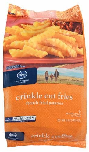 "Frozen Potatoes, Kroger® ""Crinkle Cut"" French Fried Potatoes (32 oz Bag)"