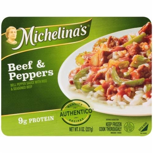 Frozen Dinner, Michelina's® Beef & Peppers (8 oz Box)