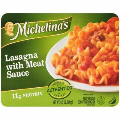 Frozen Lasagna, Michelina's® Lasagna with Meat Sauce (8.5 oz Box)