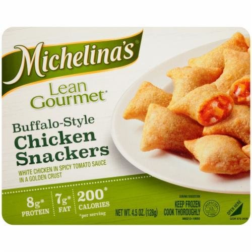 Frozen Dinner, Michelina's® Lean Gourmet Buffalo-Style Chicken Snackers (4.5 oz Box)