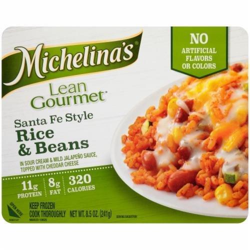 Frozen Dinner, Michelina's® Lean Gourmet Santa Fe Style Rice & Beans (8.5 oz Box)