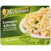 Frozen Lasagna, Michelina's® Lasagna Alfredo with Broccoli & Mozzarella (8.5 oz Box)