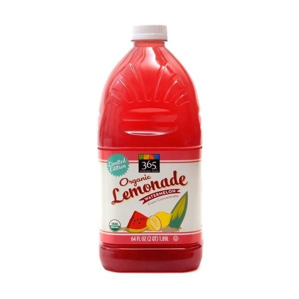 Juice Drink, 365® Organic Watermelon Lemonade (64 oz Bottle)