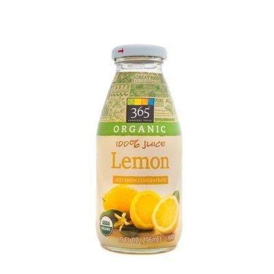 Juice Drink, 365® Organic Lemon Juice (10 oz Bottle)