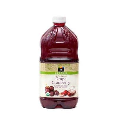 Juice Drink, 365® Organic Grape Cranberry Juice (64 oz Bottle)
