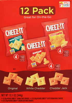 Lunch Size Crackers, Cheez-It®