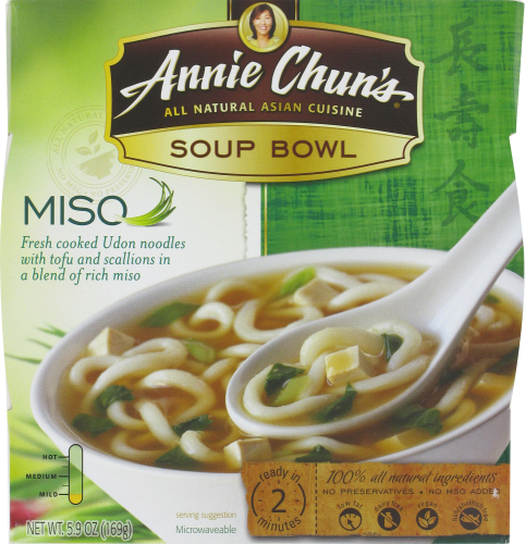 Soup, Annie Chun's® Miso Soup Bowl (5.4 oz Box)