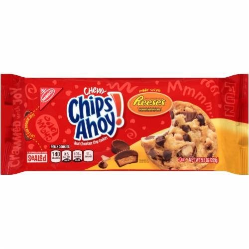 Oatmeal Cookies, Nabisco® Chips Ahoy® Chewy Reese's Peanut Butter Cup Cookies (9.5 oz Bag)